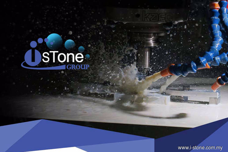 i-Stone创业板上市 股价一度狂飙72%